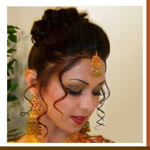 Bridal Hair, Make-Up & Henna