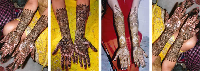 Bridal Henna Tattoos